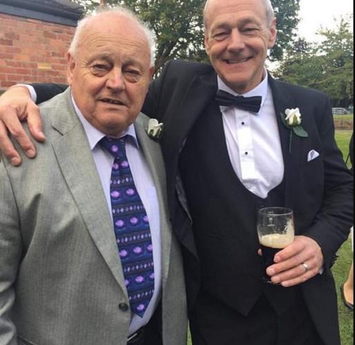 Кит МакВикар (слева) с сыном Ричардом
