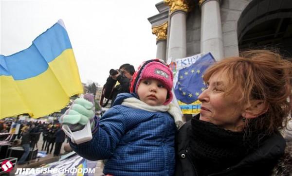55% украинцев хотят в ЕС
