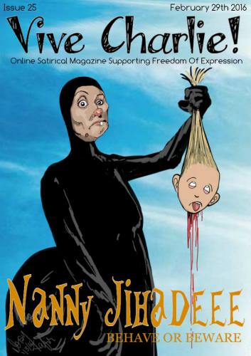 Карикатура на няню-убийцу из Москвы