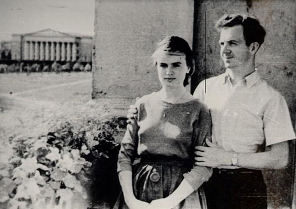 Ли Харви Освальд и его жена Марина Прусакова