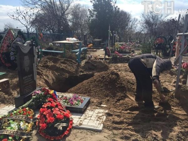 Паршов был похоронен в Днепропетровской области
