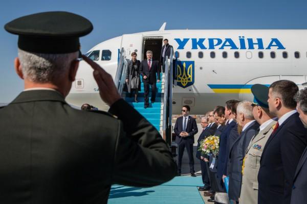 Порошенко прибыл в Турцию с визитом
