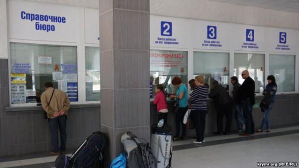 Крымчане самостоятельно прокладывают путь на материк