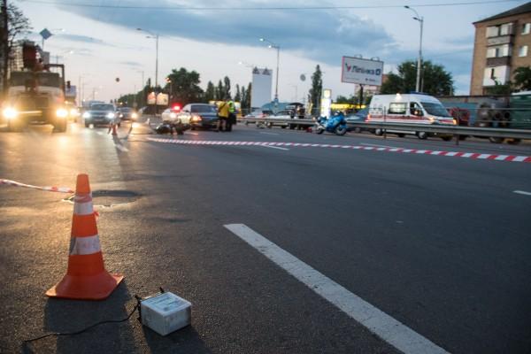 Движение в сторону Дарницкой площади было затруднено