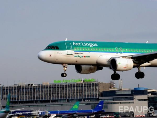 Пассажир авиакомпании Aer Lingus покусал соседа