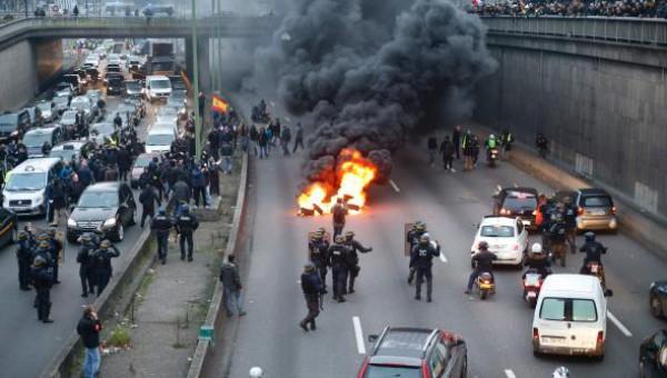 ВоФранции прошла крупнейшая забастовка профсоюзов