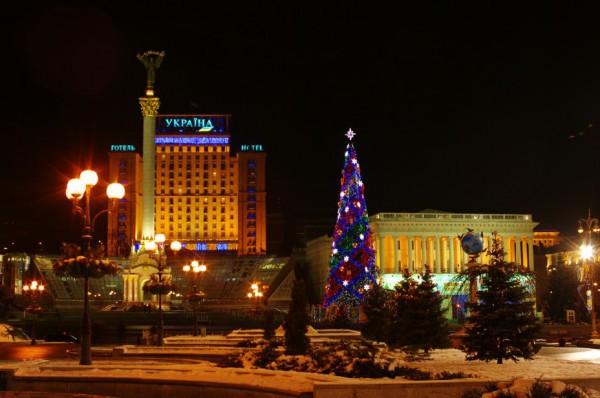 Новогодняя елка в 2009 году