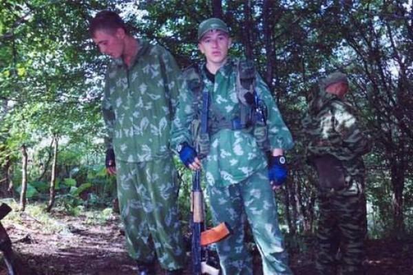 Арсений Павлов в Чечне