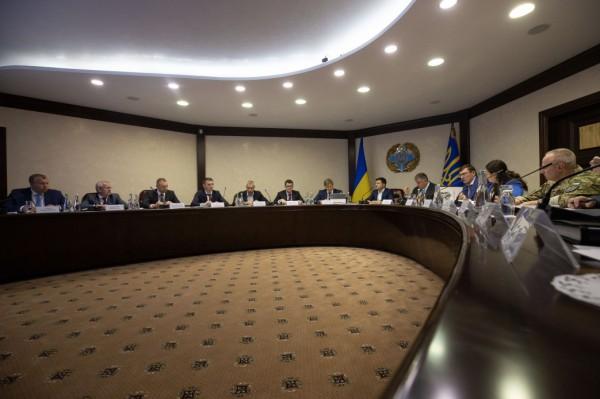 Обсуждали коррупцию в оборонной сфере