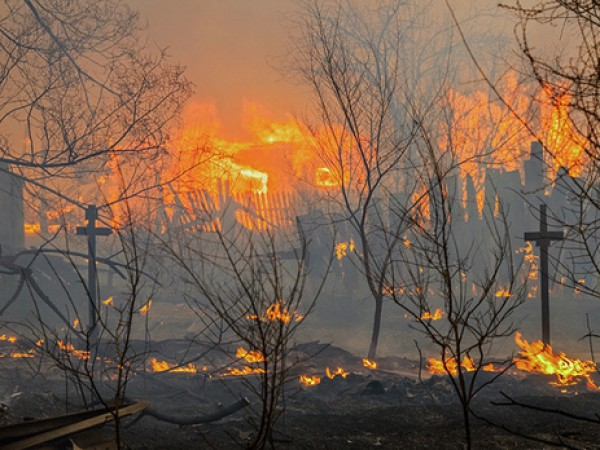 Пожары в России не прекращаются