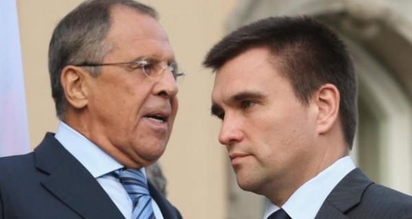 Министры иностранных дел поругались в Париже