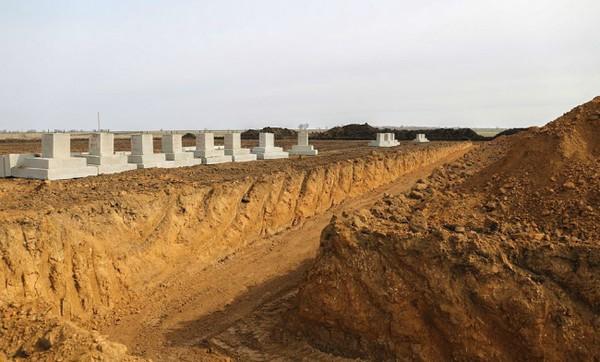 Строительство бригадного лагеря