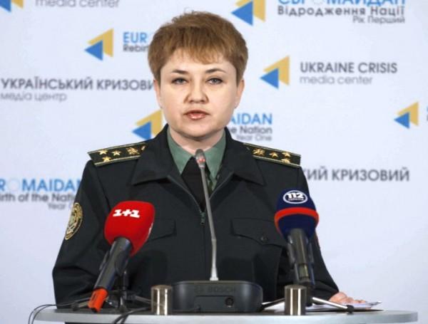 Полковник Виктория Кушнир