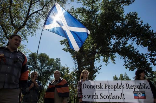 В ДНР считают, что референдум в Шотландии могли сфальсифицировать