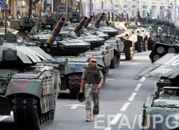 Парад на День Независимости в Киеве