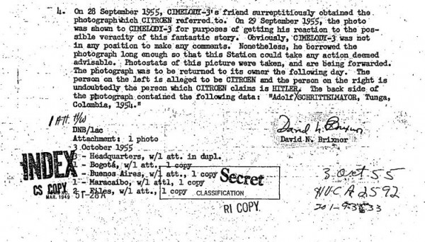 Ситроен контактировал с фюрером примерно раз в месяц