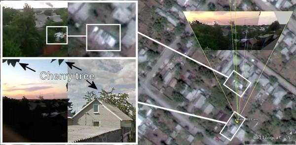 Место расположения камеры