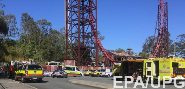 В Австралии произошел несчастный случай в парке развлечений