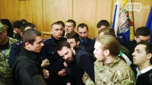 ВУжгороде подрались военные исвященники