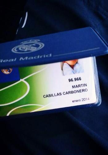 Членсий билет Мартина