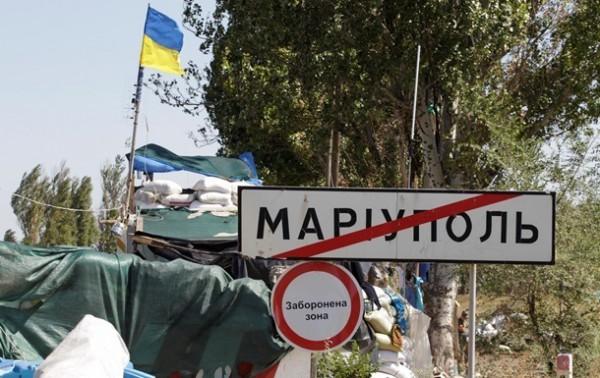 Силовиков под Мариуполем снова обстреляли
