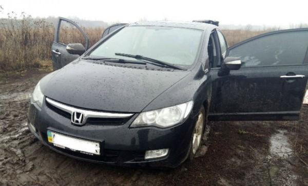 Киевские патрульные со стрельбой задержали нетрезвого водителя