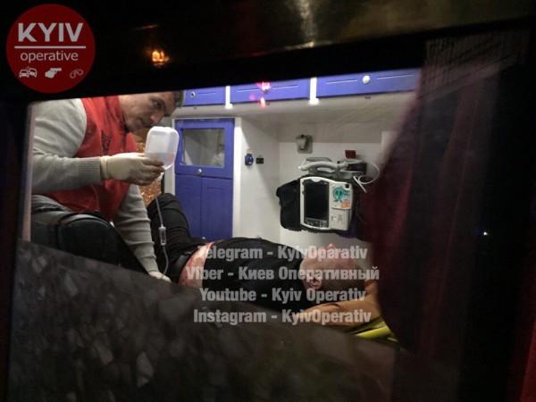 Стрельба вцентре Киева: есть пострадавшие
