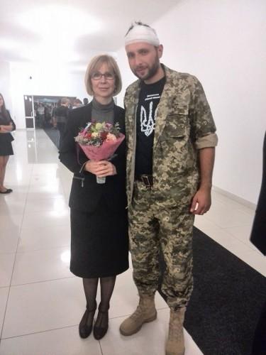 Ирина Довгань и Владимир Парасюк