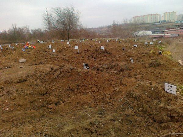 Массовые захоронения в Ростове