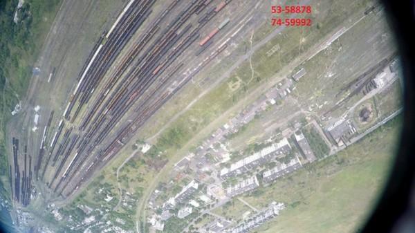 Снимок сделан 30 июля с помощью беспилотника волонтеров