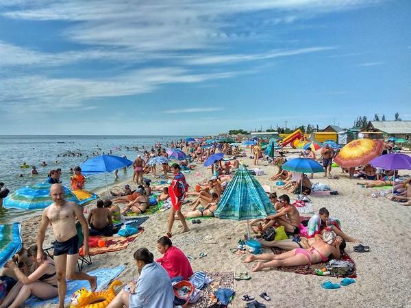 Пляж в Седово