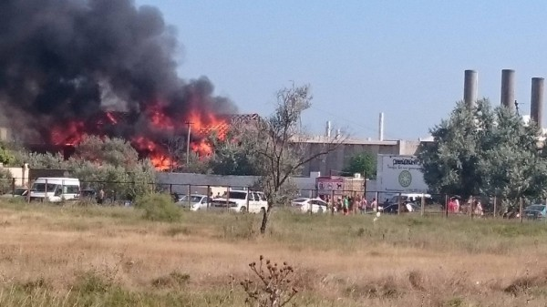 Пожар в Поповке