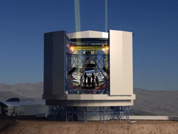 Самый большой телескоп строят в Чили