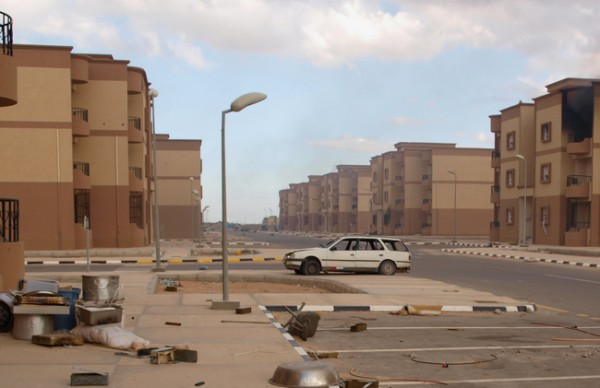 Город-призрак появится в пустыне