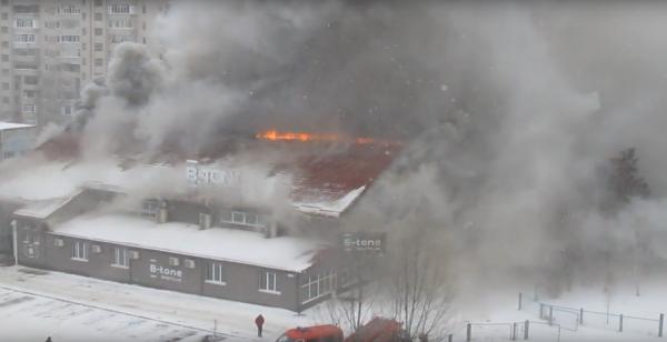 ВСумах из-за пожара эвакуировали 1300 школьников