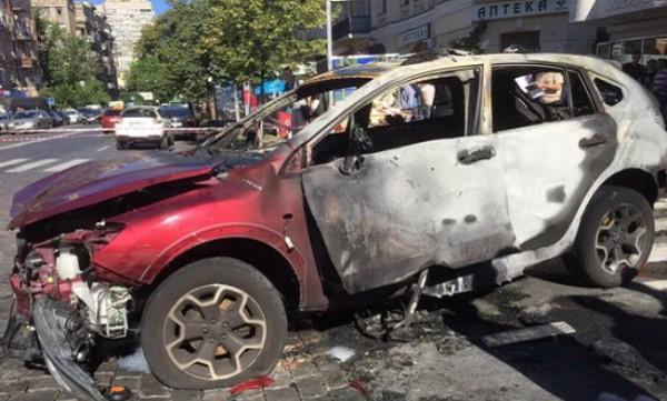 Павел Шеремет погиб во время взрыва машины