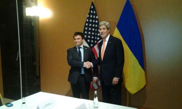 Климкин и Керри встретились перед саммитом