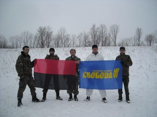 Священник Михаил Арсенич открыто поддерживает ВО Свобода