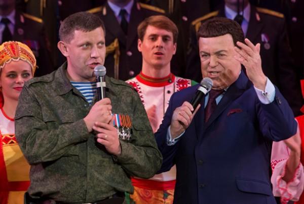 Кобзон спел в Донецке для сепаратистов