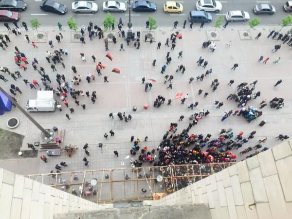 Владельцы МАФов вышли на пикет под КГГА