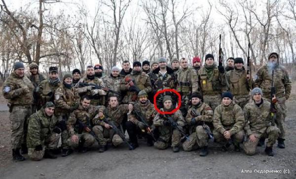 Групповые фотографии батальона Січ, сделанные в зоне АТО