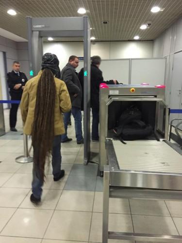 В Домодедово создали секцию для прилетевших из Беларуси