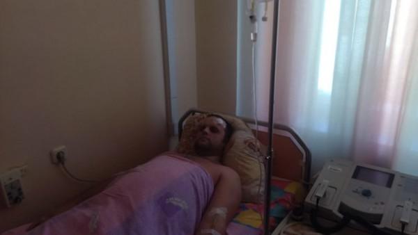 Павел Губарев в больнице