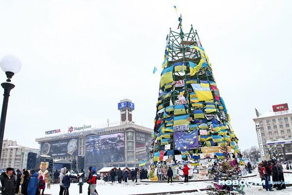 Новогодняя елка в 2014 году