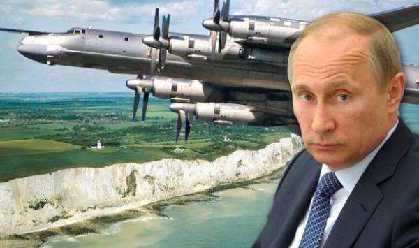Российский бомбардировщик переправлял ядерное оружие