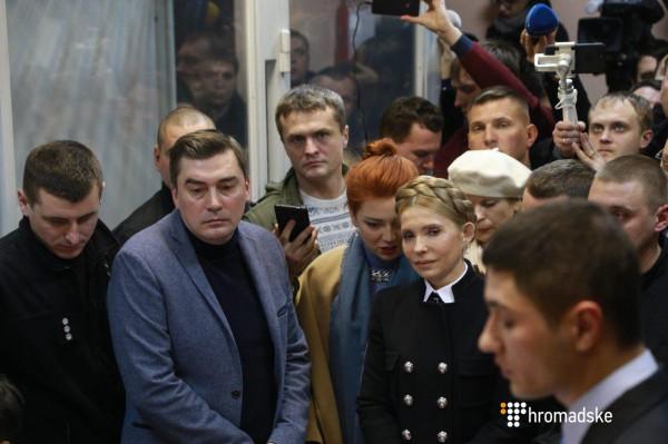 Тимошенко в суде над Саакашвили