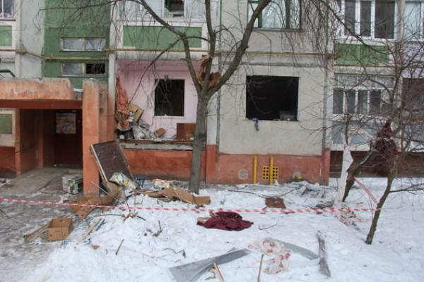 В одной из многоэтажек Чернигова прогремел взрыв