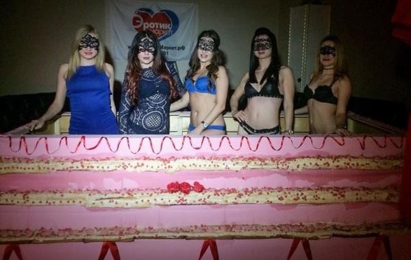 Торт был представлен на пробу всем желающим