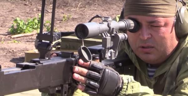 Военные испытывают оружие