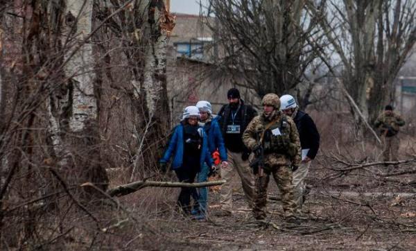 В ОБСЕ рассказали о минных полях на Донбассе